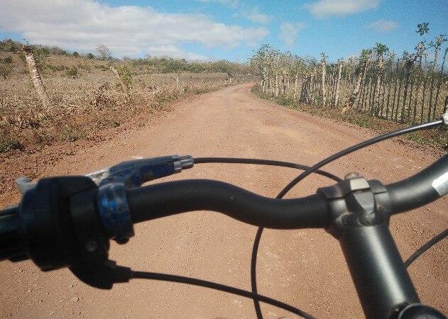 Cycling in Galapagos