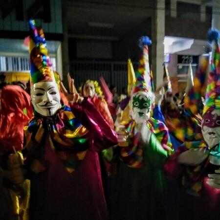 Carnival time in Brazil