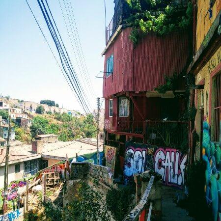 Barrio Bellavista in Valparaiso
