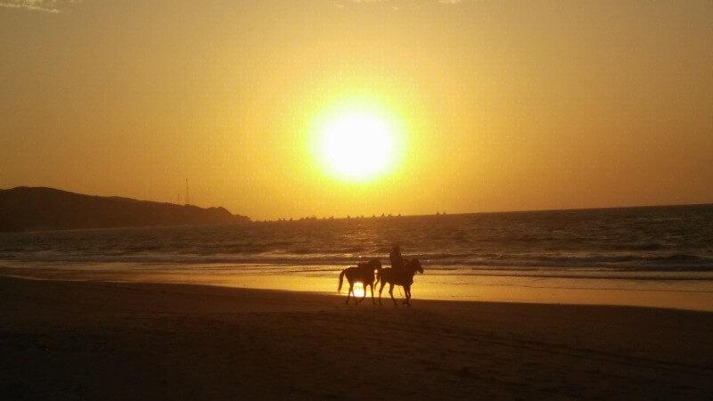 Sunset in Mancora