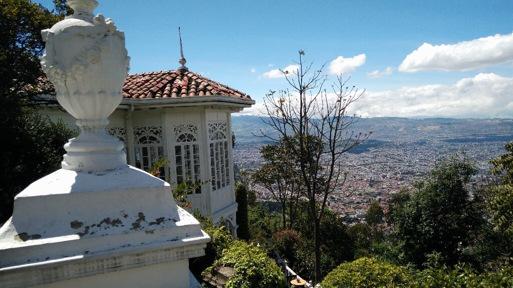 View over Bogota