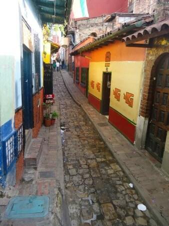 Alleys in barrio Candelaria
