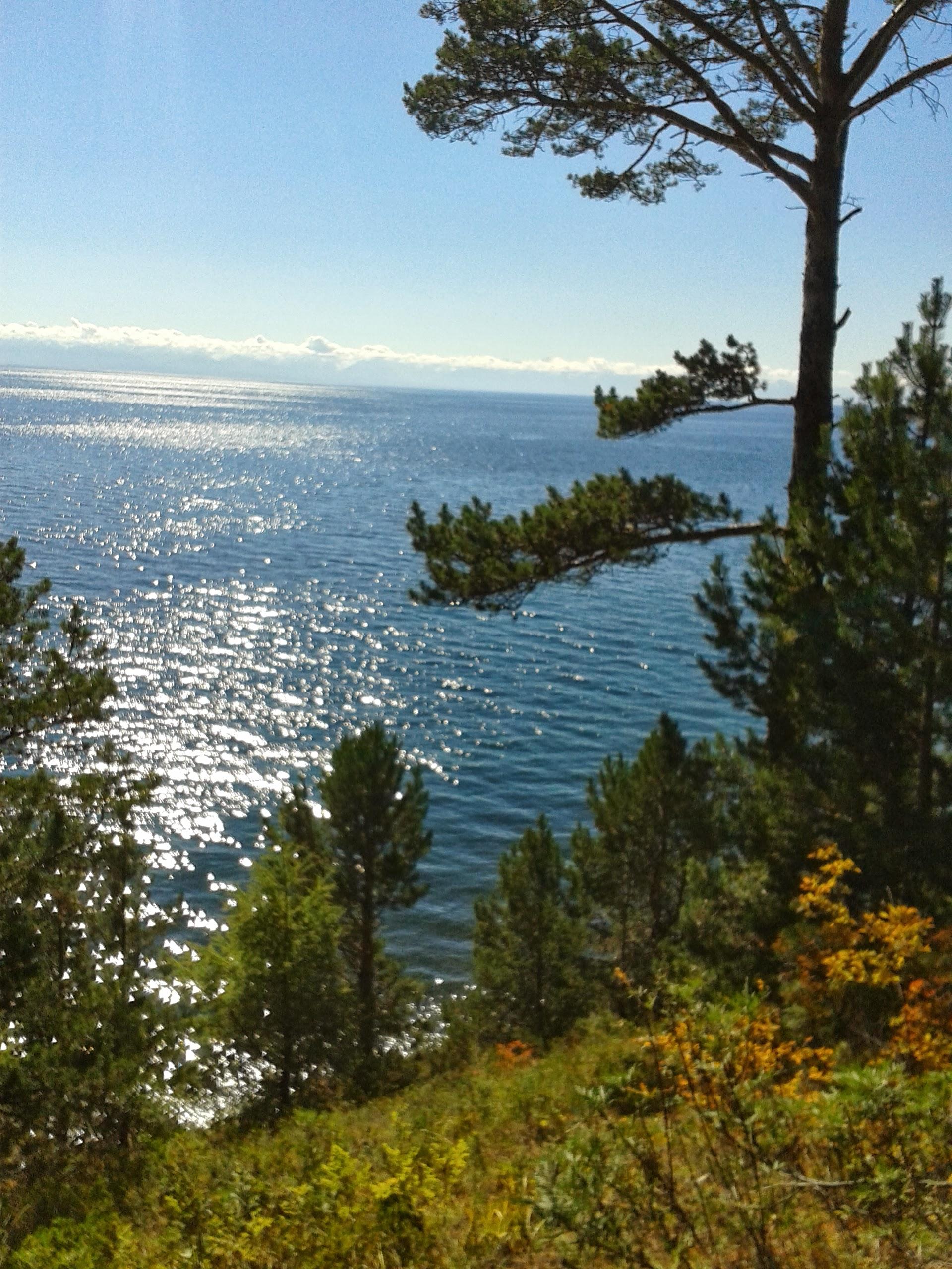 Lake Baikal, in SIberia, Russia