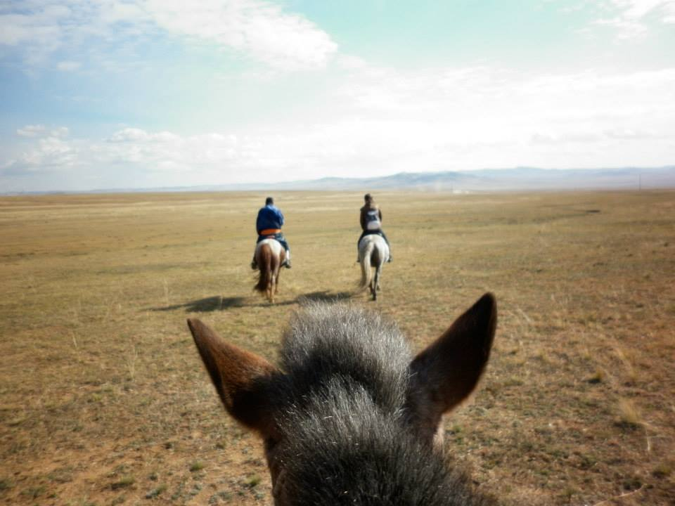 On the hoofsteps of Genghis Khan: Riding with the nomads