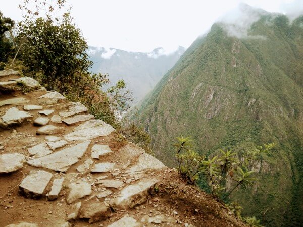 The road to the Inca Bridge