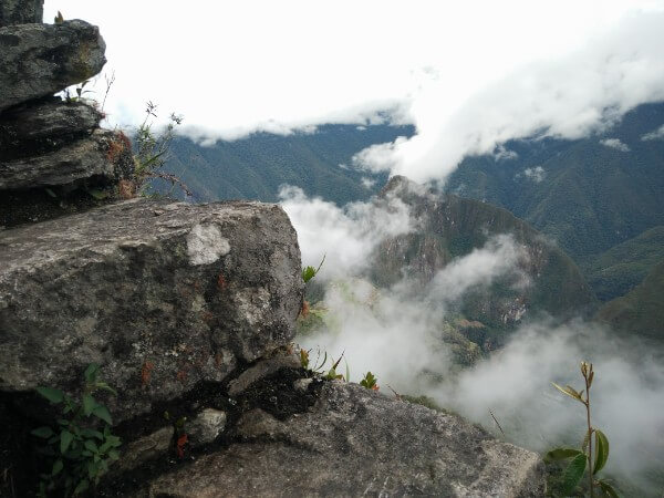 Climbing Machu Mountain