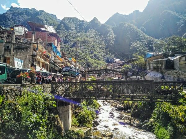 Aguas Calientes, the doorway to Machu Picchu