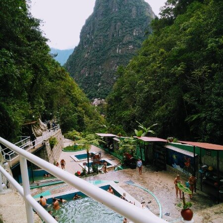 Relaxing in Aguas Calientes