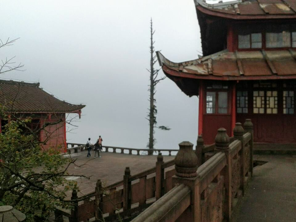 Xixiang Chi monastery on Emei Shan mountain in China