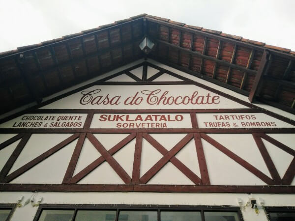 The chocolate-house in Penedo