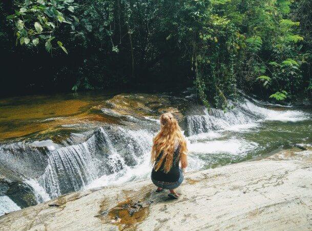 Penedo has beautiful nature around it