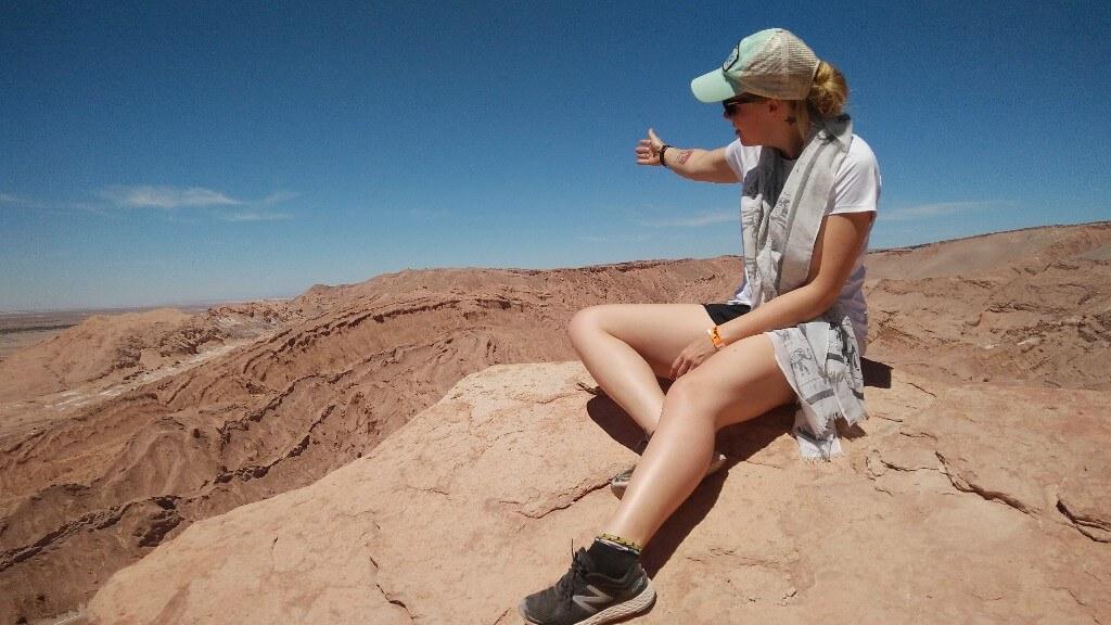 Valle de la Muerte in Atacama Desert