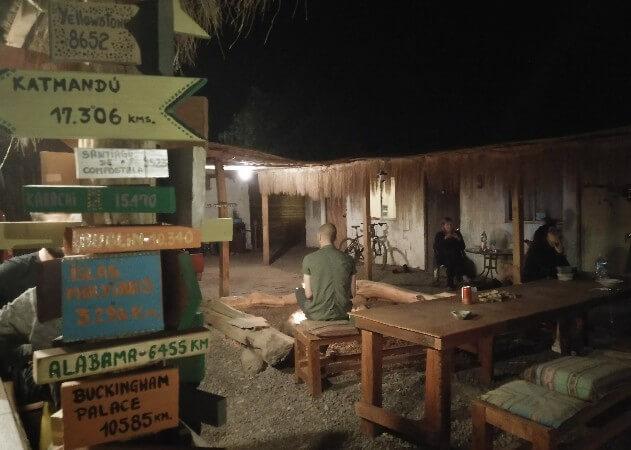 Hostel life in San Pedro