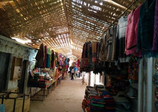 Shopping in San Pedro de Atacama, Chile