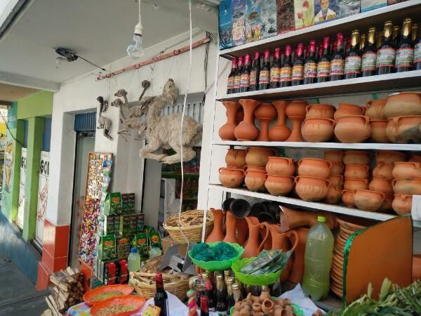 El Mercado de las brujas aka Witch Market in La Paz
