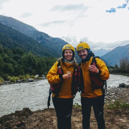 Whitewater rafting in Chile