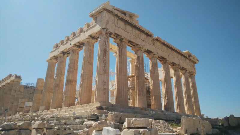 Acropolis sights