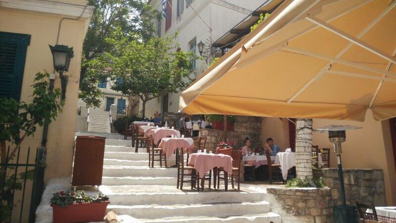 Plaka street views