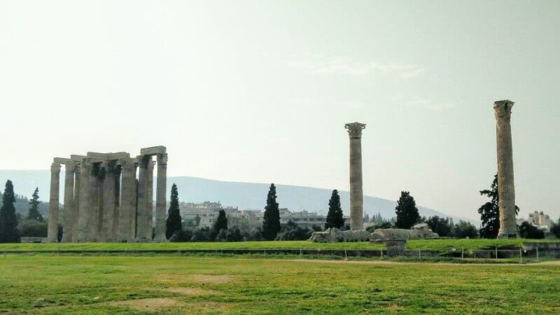 Olympieon, Temple of Zeus in Athens