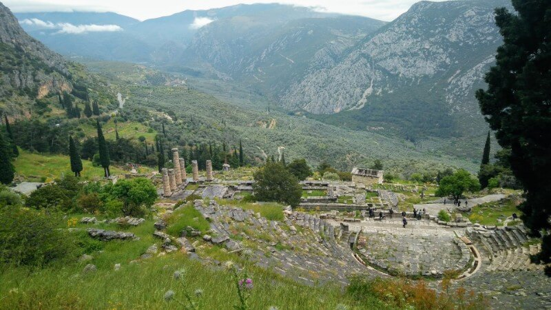 Oracle of Delphi, Greece