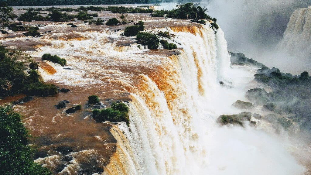 Iguazu Falls: Largest waterfall system of the world