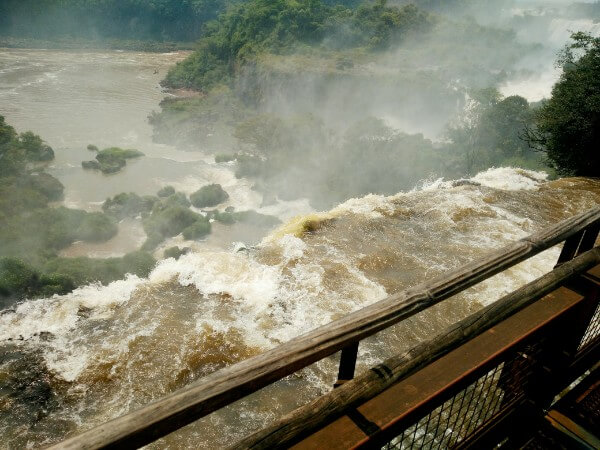 Views over Iguazu Falls