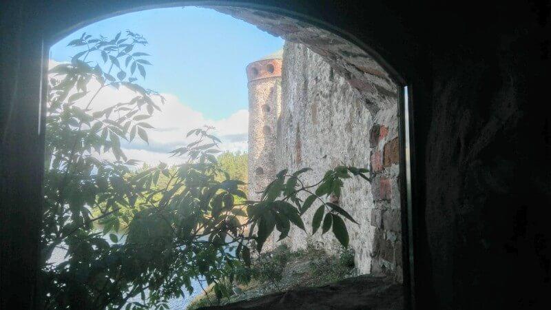 Views from the Olavinlinna castle
