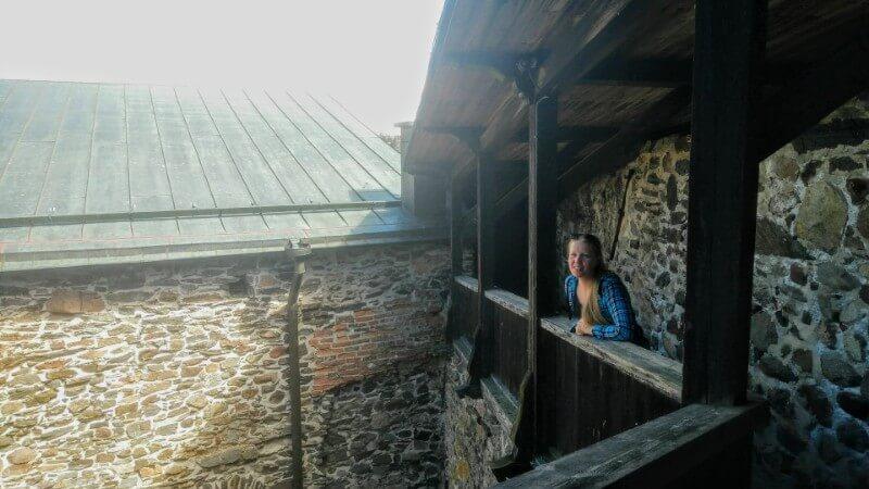 Castle tour in Olaf's castle