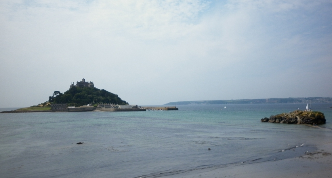 St Michael's Mount: Castle on a tidal island