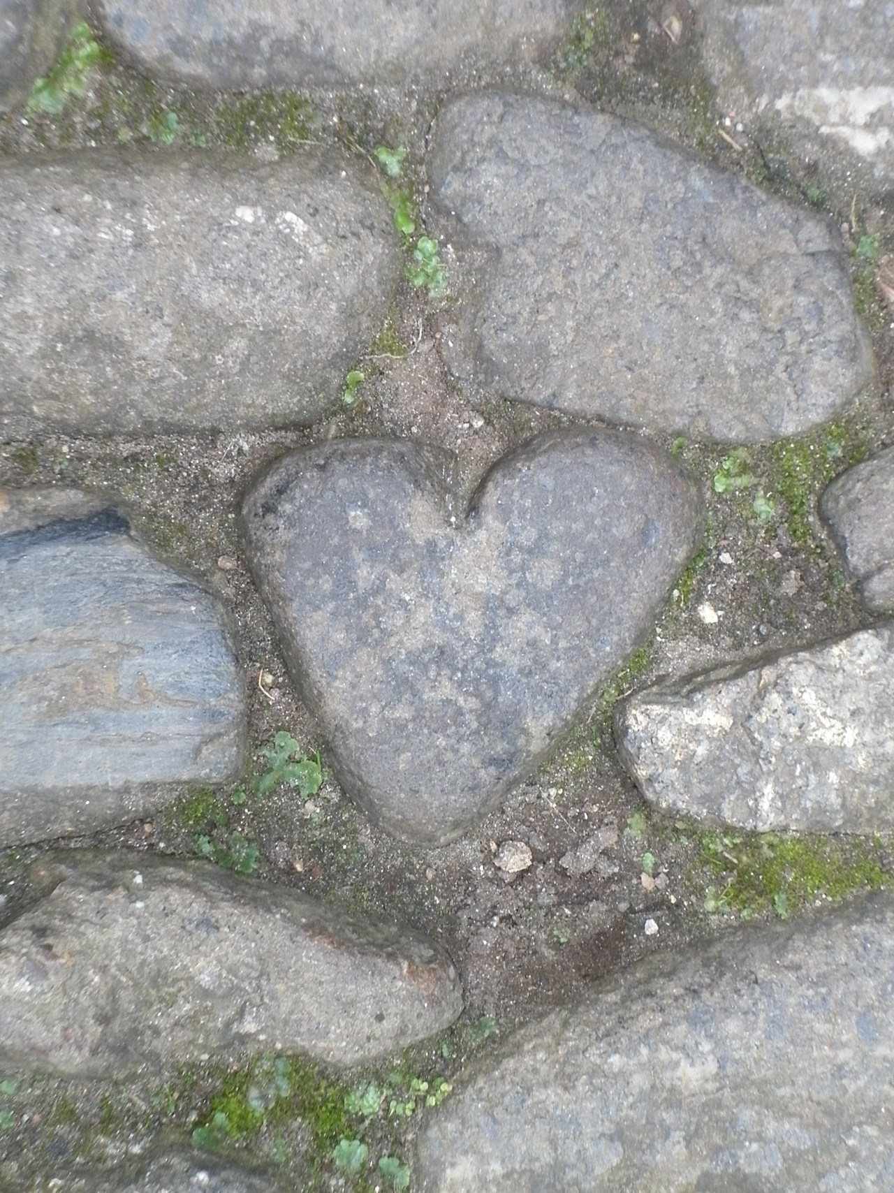 The giant Cormoran's stone heart