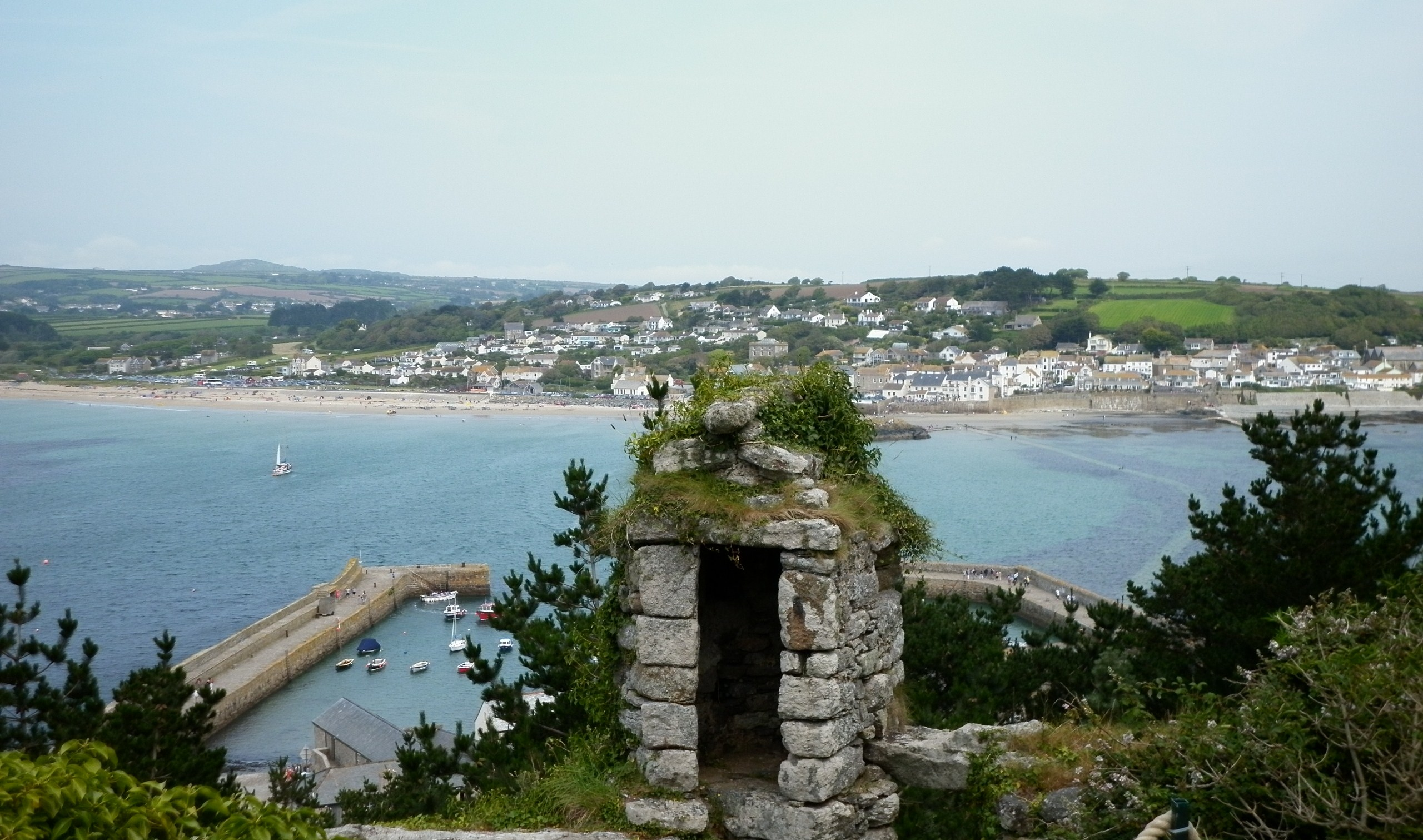 The views from St Michael's Mount are amazing