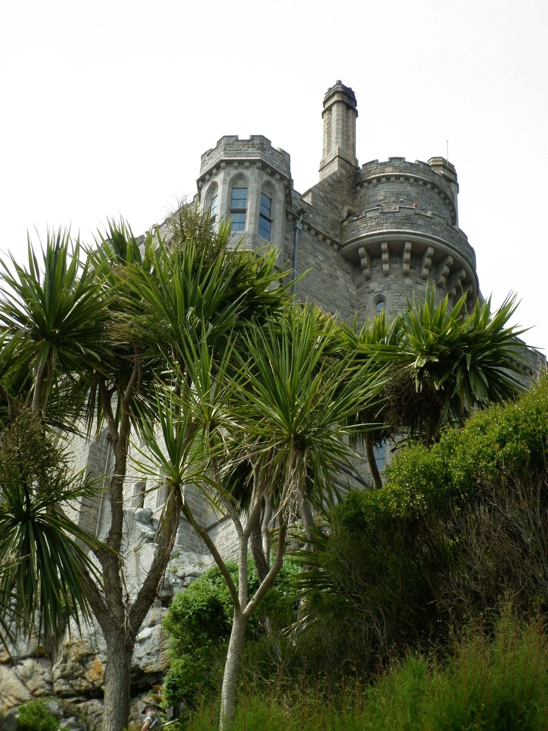 The castle in St Michael's Mount