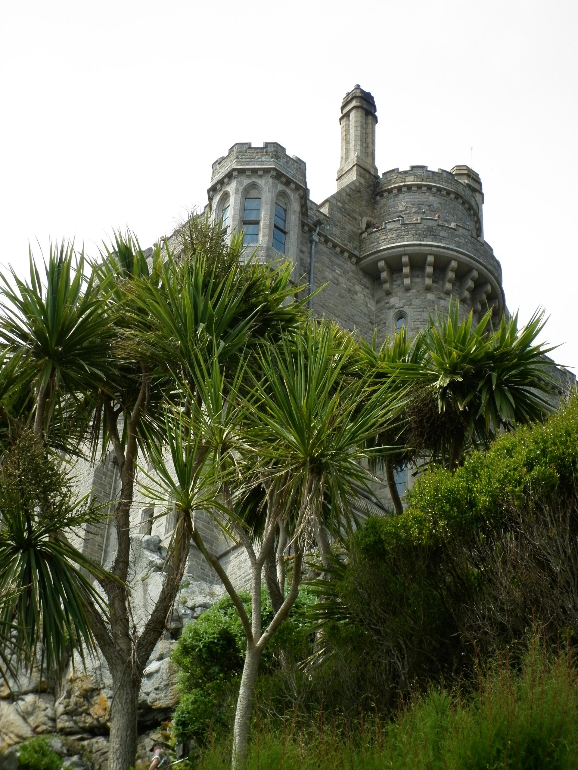 The castle in St Michael's Mount