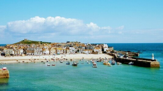 St Ives in Cornwall England