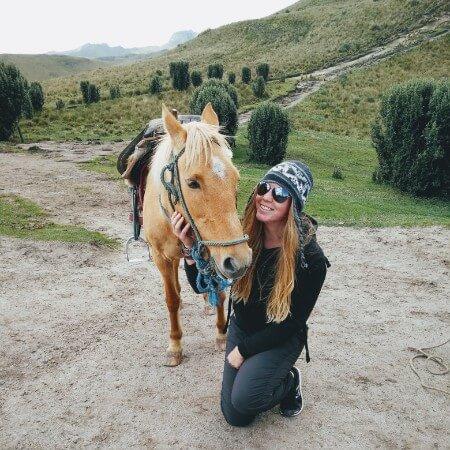 Riding trip in Ecuador