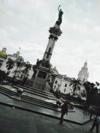 Plaza Grande in Quito old town