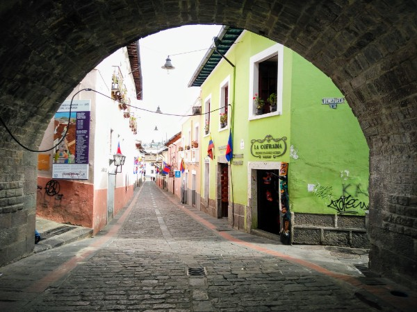 Historical centre of Quito