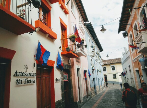 Quito historical centre