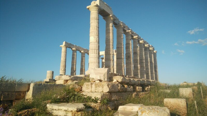 Poseidon's temple in Sounion